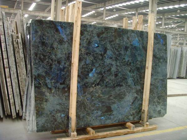 The Granite Gurus Slab Sunday Lemurian Blue Granite